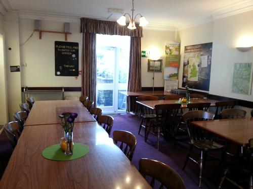 pre renovation dining room