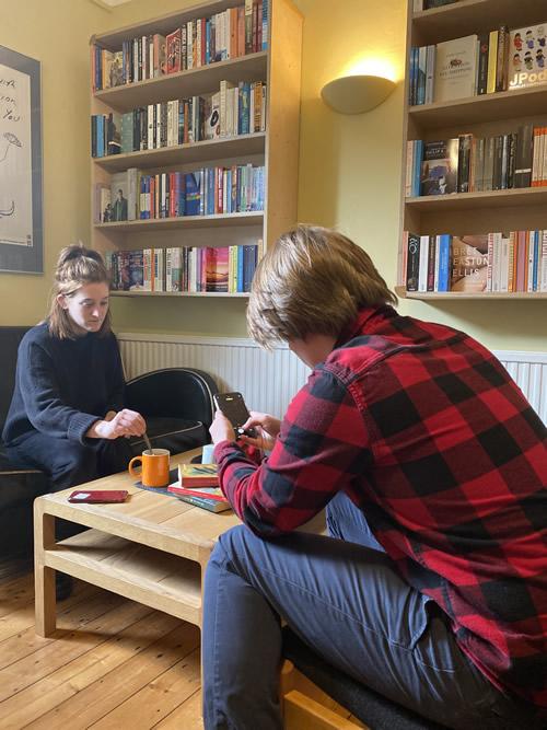 bookshop dining room