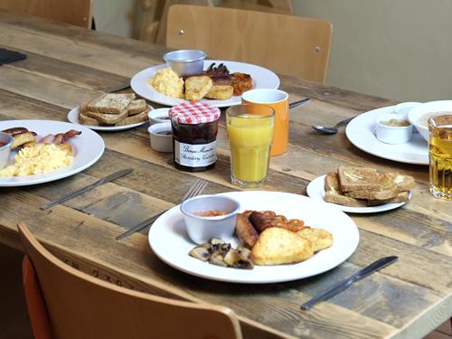 cooked breakfasts