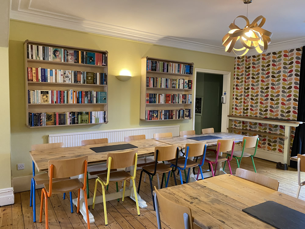 dining room booking