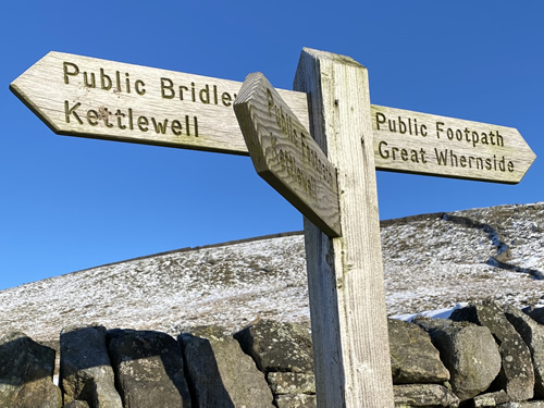 kettlewell signpost