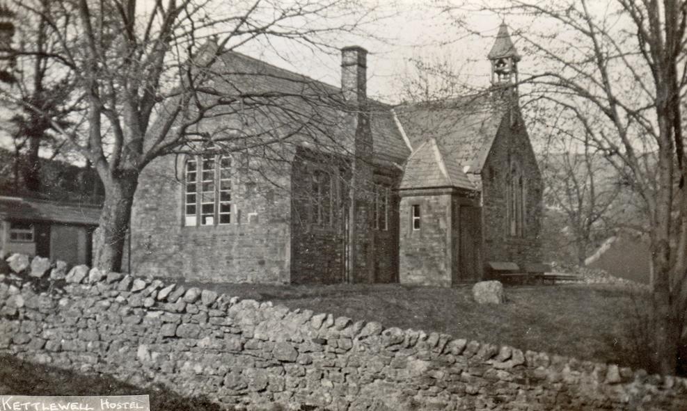 kettlewell hostel - old school photo