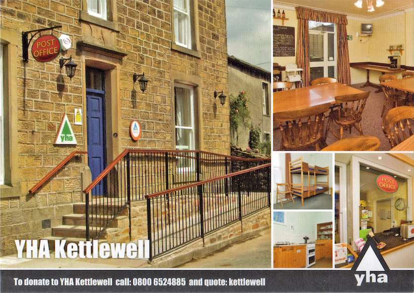 yha kettlewell postcard